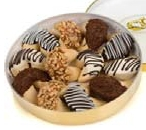 Festive Confetti Wheel Of Fortune Cookies
