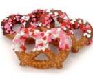 Custom Easter Chocolate & Caramel Thick Bavarian Style Gourmet Pretzel Twists