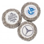 Round Silver Sugar Picture Cookie