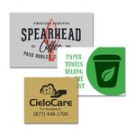 Custom Aluminum Sublimated Plate Sign with Custom Full Color Imprint - Up to 9 sq. in.