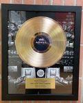 Custom Record Award, Framed Gold or Platinum Deluxe