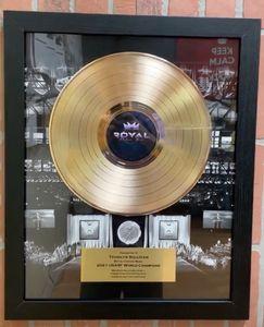 Custom Imprinted Gold and Platinum Record Awards!