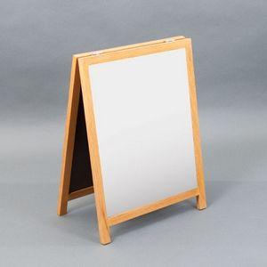 Countertop A-Frame Wet-Erase Board - 12W x 14H