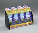 Custom 12-Pocket Acrylic Brochure Holder, 3 tiers of 4