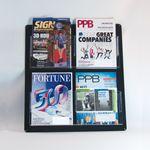 Custom Acrylic Wall Literature Holder, (8) 4 1/2