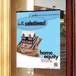 Custom Dual Option Ceiling or Door Poster Holder (22w x 28h)