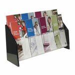 Custom Deluxe 8-Pocket Acrylic Brochure Holder - Wall