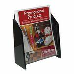 Custom Deluxe Acrylic Brochure Holder - Wall (8-1/2w x 11h)