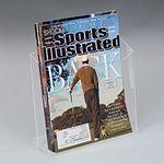 Custom Single Pocket Literature Holder - 8.5w
