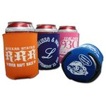 Custom Collapsible Screen Printed Beverage Hugger