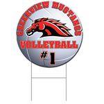 Custom Coro Sport Volleyball Sign