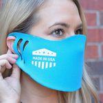 Custom Guardian Silk Screen Face Mask