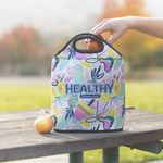Neoprene Lunch Tote with Zipper
