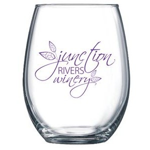 15 oz. Stemless Wineglass