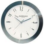 Custom Ultra Slim Stainless Steel Wall Clock w/ Curved Glass (10