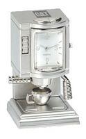 Miniature Metal Coffee Maker Clock