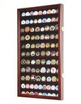 Custom Large challenge coin display cabinet 28