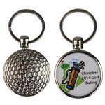 Golfball Keytag