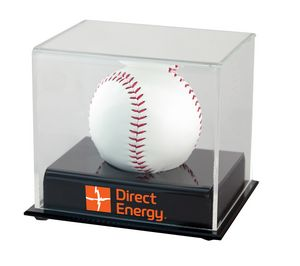 Executive series baseball display case