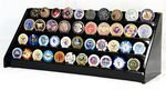 Custom 4 Tier Challenge Coin Display Rack For 40 Coins