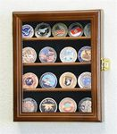 Custom Small challenge coin display cabinet 10