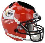 Custom Scale Miniature Football Helmet Desk Caddy