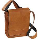 Custom Deluxe Medium Flap-Over Messenger Bag