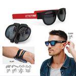 Brooklyn Bends™ Slap Sunglasses w/Polarized Lenses