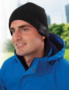 5c6a1177e3d Bluetooth Phone Answering Beanie Hat - BTBH-12-2779 - IdeaStage Promotional  Products