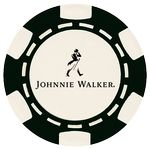 Custom Custom Hot Stamped 6 Stripe ABS Composite Poker Chip (11.5 Gram)