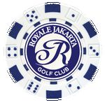 Custom Dice design Custom Poker Chip Ball Marker - Foil Heat Stamped