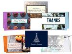 Custom Customized Greeting Card Mailing Program - Quarterly