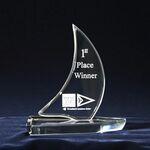Custom Sailboat Award (6-1/4
