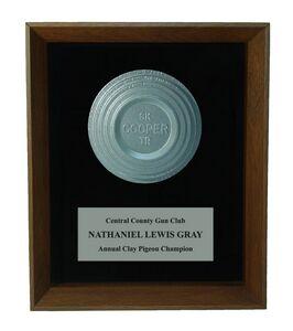 8 x 10 Clay Target Shadow Frame Award
