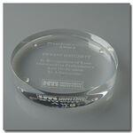 Custom Acrylic Circle Paperweight (3