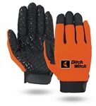 Custom Super Grip Mechanics Gloves (Safety Orange)