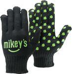 Custom Black Knit Gloves w/Step & Repeat Imprint