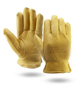 Personalized Premium Grain Deerskin Gloves!