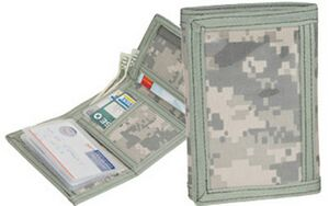 Custom Printed Camouflage Wallets