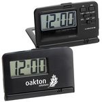 Custom Travel Alarm Clock (Black)