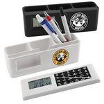 Custom Desk Caddy w/Removable Calculator