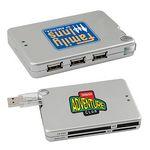 Custom USB Hub w/ Built-in Memory Card Reader