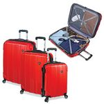 Custom Sedona 3 Piece 100 percent Polycarbonate Hard Case Set
