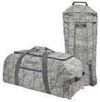 Custom Digital Camo Duffel Bag/Backpack (31