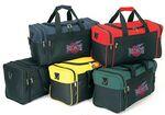 Custom Duffel Bag w/Multiple Zipper Pocket (17