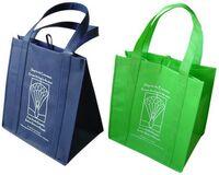 Green Shopping Tote Bag