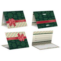 Red Bow - PrePrinted Card Carriers