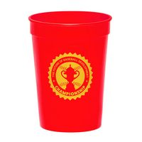 12 Oz. Fanatic Plastic Stadium Cups
