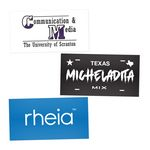 Custom Rectangle Custom Stickers (2