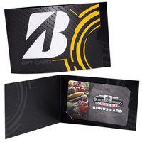 Custom Card Carriers - Horizontal Folded Card Carrier